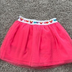 Minnie Mouse hot pink skirt